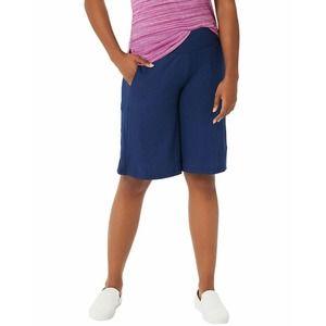 Cuddl Duds Flexwear Blue Palazzo Pants Large